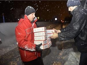 Türk Kızılayı ve AFAD yolda kalanlara gece boyu yardım etti