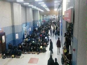 Ankara metrosuna mescit yetmiyor!