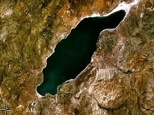 Burdur Gölü çöl oluyor