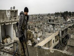 BM'den Kobani'de hasar tespiti