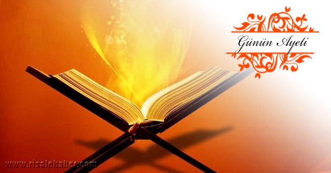 Allah'a ve âhiret gününe kavuşmayı uman için Allah'ın Resûlünde güzel bir örnek vardır