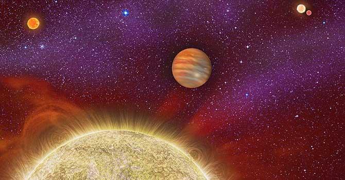 Dört güneşli gezegen keşfedildi
