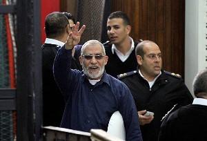 Mısır'da Muhammed Bedii ve 18 isme müebbet