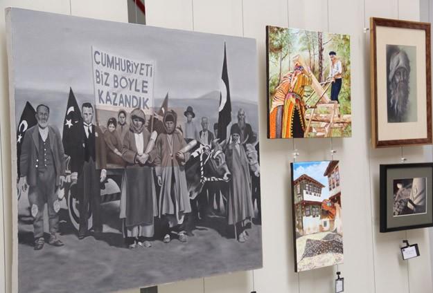 Çanakkale'nin 253 bin şehidi 253 eserle anılıyor