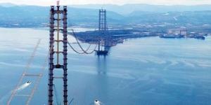 Körfez Geçiş Köprüsü'nün silüeti belirdi