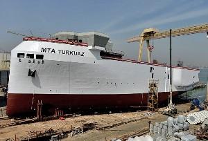Yerli sismik gemi Turkuaz'ın maliyeti 300 milyon lira
