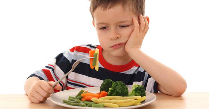 Çocuklarda tek yönlü beslenmeye dikkat !
