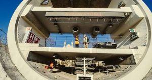 Avrasya Tüneli inşaatında sona yaklaşılıyor