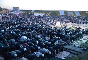 Şehitler anısına Namazgah Tabyası'nda buluştular