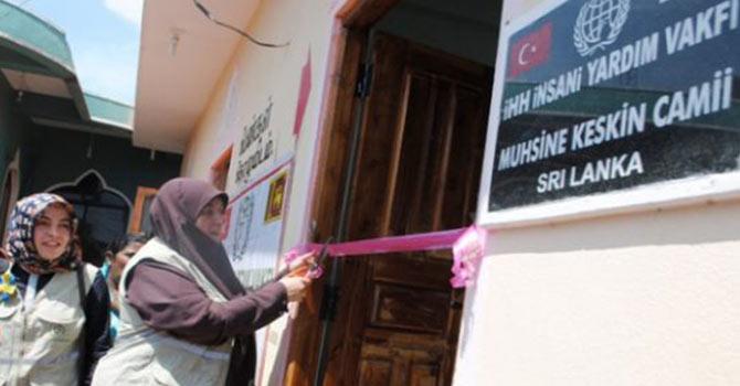 Sri Lanka'da kadınlara özel cami yaptıran teyze şaşırttı