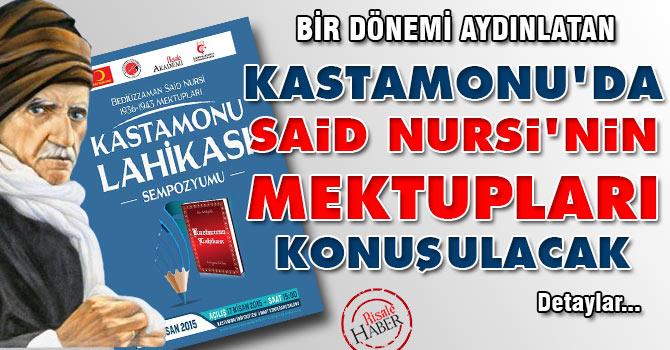 Kastamonu'da Said Nursi'nin mektupları konuşulacak