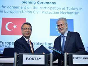 Türkiye AB Sivil Koruma Mekanizması'na üye oldu