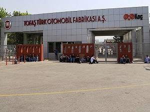 Tofaş'ta işçilerin bir kısmı işbaşı yaptı