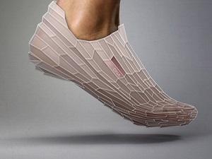 Ayağı vurmayan 3D ayakkabı
