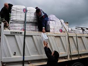 TİKA'dan Filistinli ailelere destek