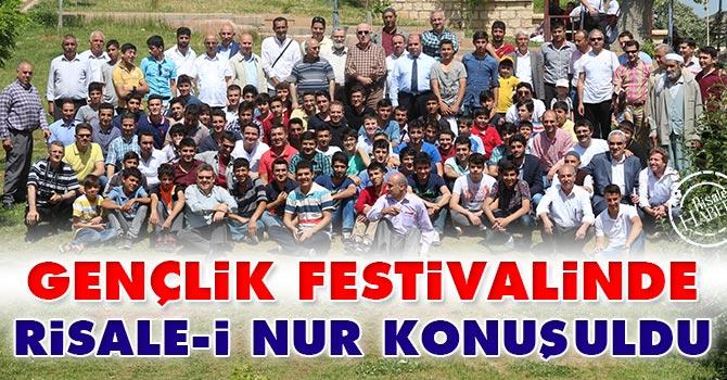 """Gençlik Festivali""nde Risale-i Nur konuşuldu"