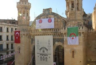 Tika Cezayir'de cami restore ediyor!