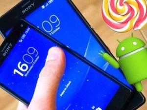 Sony, Android Lollipop güncellemesi alacak modelleri açıkladı!