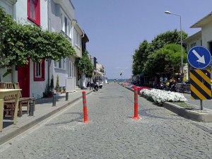 Bozcaada'da araç trafiğine düzenleme