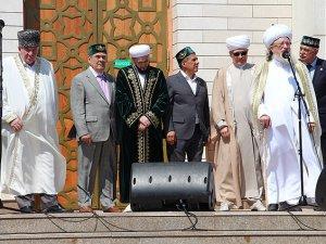 """Tatarların """"Kutsal Bolgar Toplantısı"""" yapıldı"""