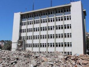 MİT binaları yıkılıyor