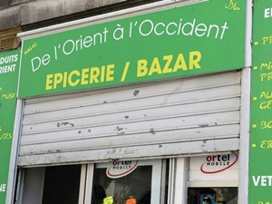 Fransa'da haremlik selamlık mağaza olay oldu