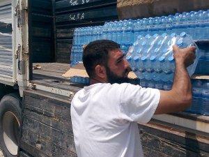 Türk Kızılayı'ndan Suriyeli Türkmenlere yardım