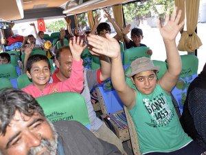 Bodrum'daki sığınmacılar İstanbul ve Yalova'ya gönderildi
