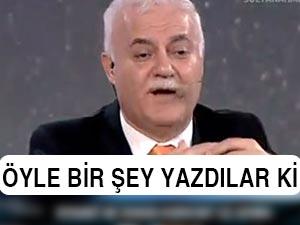 """Hatipoğlu'nun programındaki """"kıyamet"""" bandı olay oldu"""