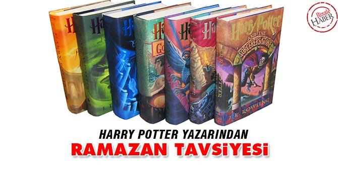 Harry Potter yazarından Ramazan tavsiyesi