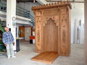 Almanya'daki caminin mihrabı Çorum'dan