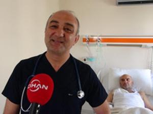 500'den fazla kez kalbi duran hasta sağlığına kavuştu