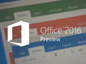 Microsoft Office 2016 yayımlandı! İndir!
