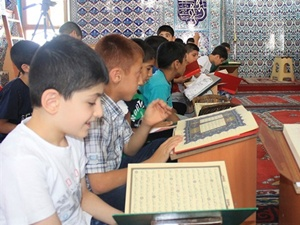 Suşehri'de 2 bin 150 öğrenci yaz Kur'an kurslarına katıldı
