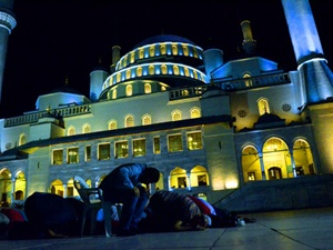 Kocatepe Camii'nde Kadir Gecesi heyecanı