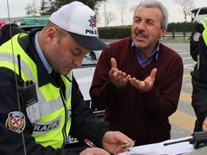93 sürücüye 27 bin 199 TL ceza kesildi