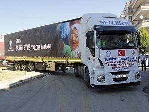 TDV'den Suriyeli Türkmenlere bayram yardımı