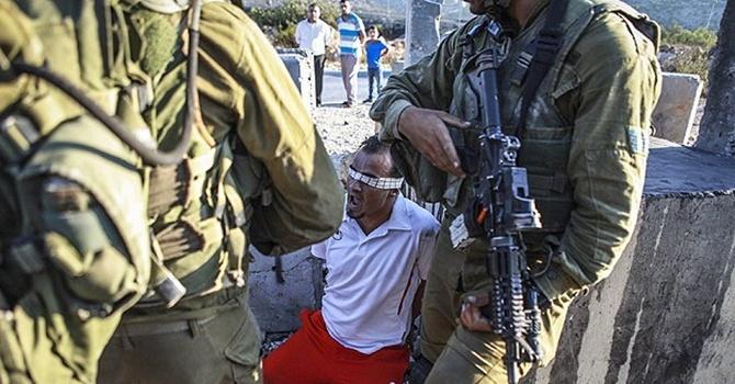 İsrail askerleri 6 Filistinliyi gözaltına aldı