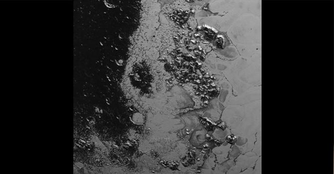 Plüton'un sıradağları görüntülendi