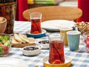 Kahvaltıdaki çayınız açık ve şekersiz olsun