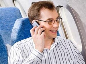 Uçakta cep kullanımı için izin