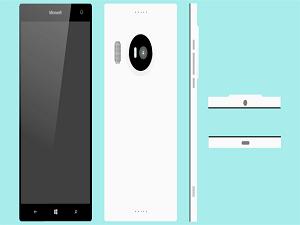 Lumia 950XL'den ilk görsel: Hem sert hem şık!