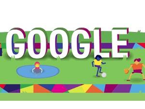 Google'dan Özel Olimpiyatlar 2015 için Doodle