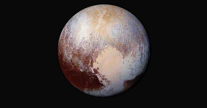 Plüton'da buz akıntısı tespit edildi