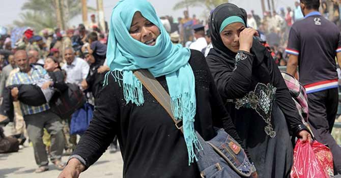 Irak'ta sığınmacı sayısı 3 milyona yaklaştı