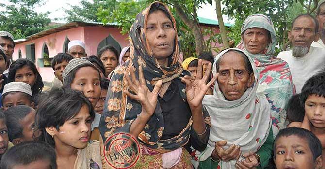 Rohingya Müslümanlar: 'Biz açız, çocuklarımız aç'