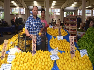 Limon fiyatları tavan yapınca