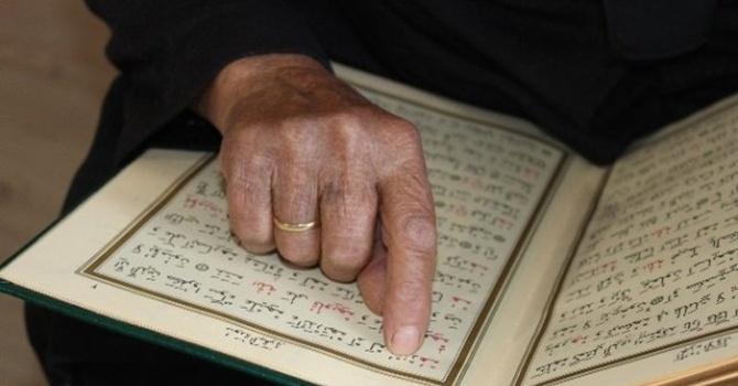 Bu yaşta Kur'an-ı Kerim okumayı öğrendi!