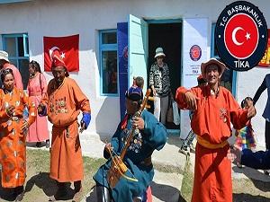 TİKA'dan Hoton Türklerine yardım eli