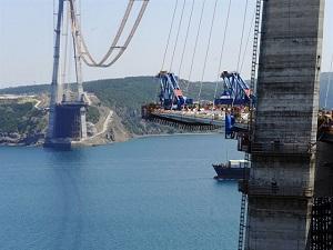 Yavuz'un yeni ünvanı: Dünyanın en geniş köprüsü